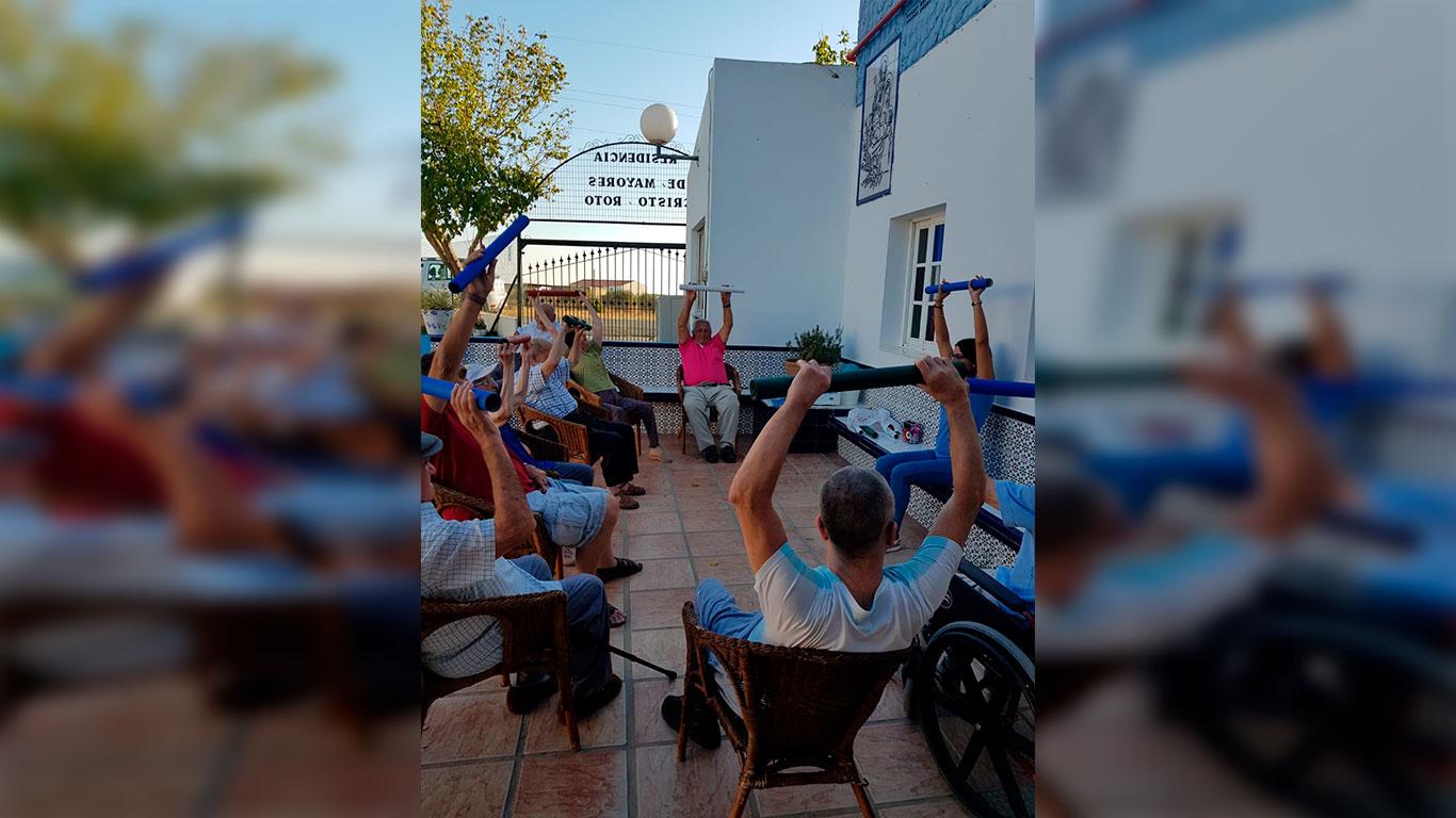 La Residencia de Mayores Cristo Roto celebra el Día Mundial de la Salud Mental